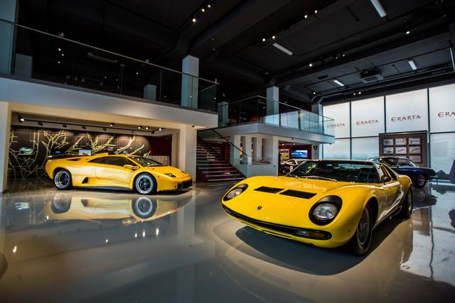 где находится выставка авто феррари и ламборджини
