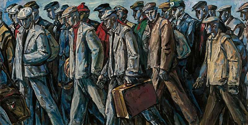 Conscripts, artist Peter Gorban